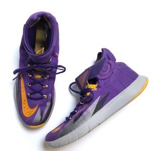 Nike Zoom Purple And Yellow Sneakers